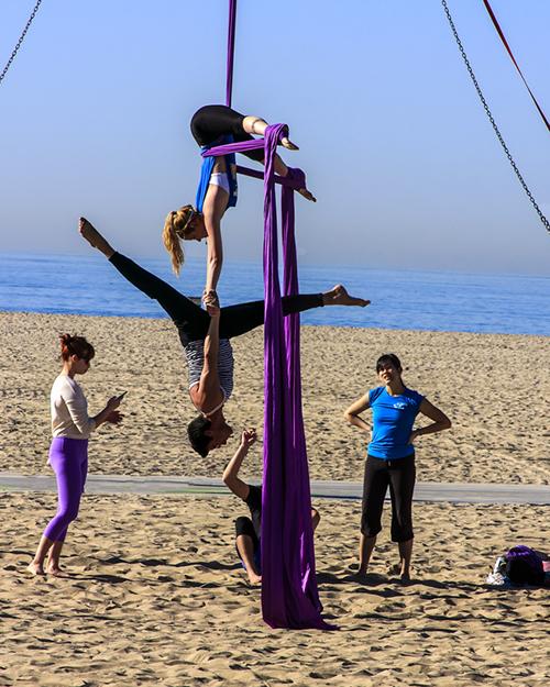 Santa Monica Beach Ringers